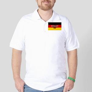 Germany Flag Extra Golf Shirt