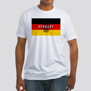 Germany Flag Extra Fitted T-Shirt