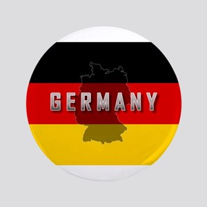 """Germany Flag Extra 3.5"""" Button"""