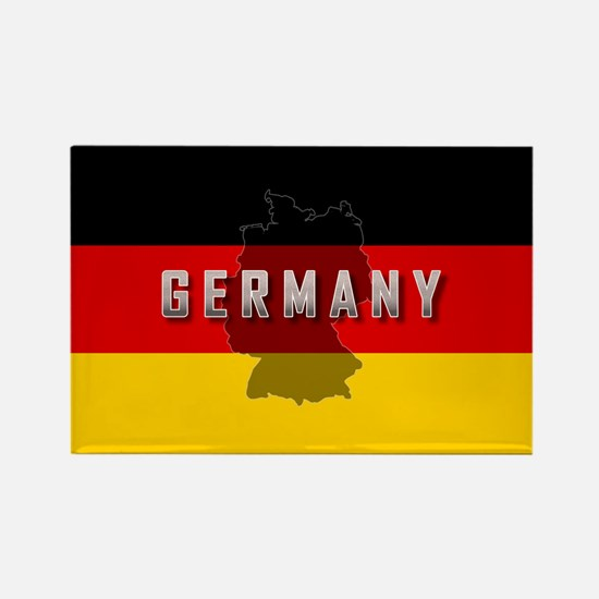 Germany Flag Extra Rectangle Magnet