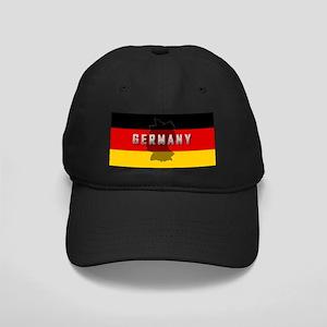 Germany Flag Extra Black Cap