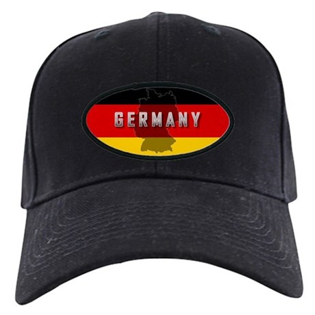 Germany Flag Extra Black Cap