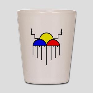 RainCloudFinal Shot Glass