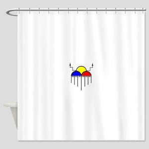 RainCloudFinal Shower Curtain