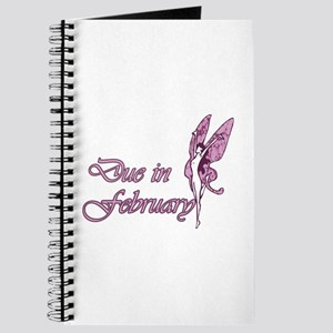 Due February Pink W Fairy Journal