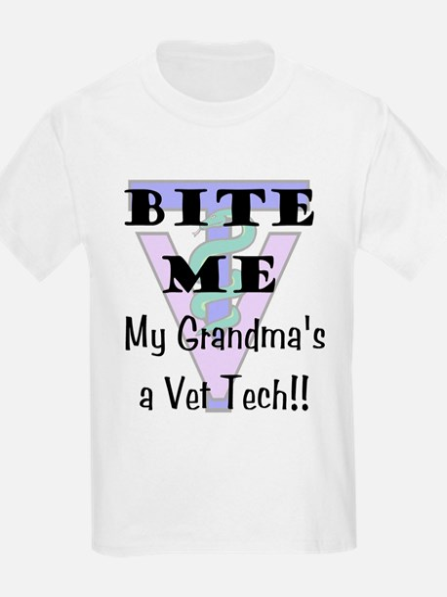 Kids T-Shirt - Grandma Vet Tech