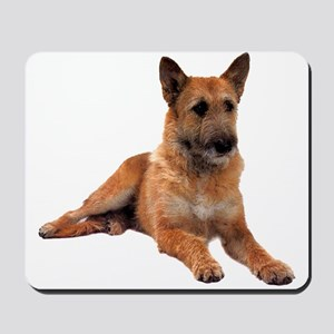 Belgian Shepherd Sitting Mousepad