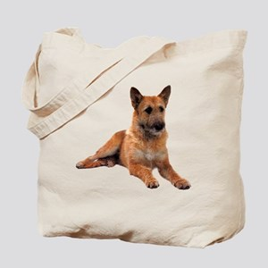 Belgian Shepherd Sitting Tote Bag