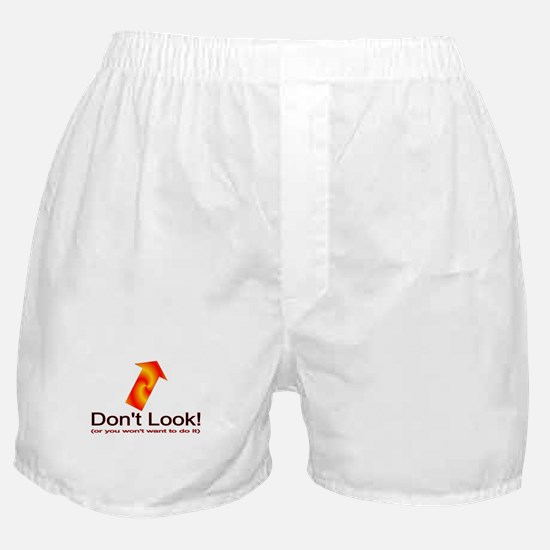 Don't Look boxers