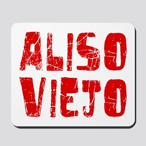 Aliso Viejo Faded (Red) Mousepad