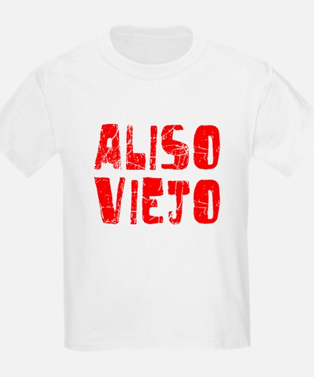 Aliso Viejo Faded (Red) T-Shirt
