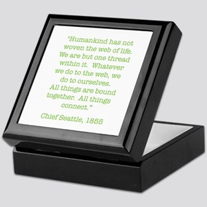 Nature Quotes 1 Keepsake Box