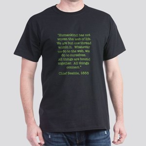 Nature Quotes 1 Dark T-Shirt