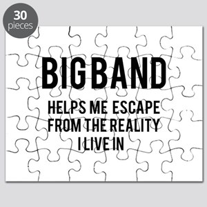 Big Band Helps me escape from the reality Puzzle