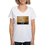 Massage Room Women's V-Neck T-Shirt
