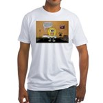 Massage Room Fitted T-Shirt