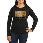 Massage Room Women's Long Sleeve Dark T-Shirt