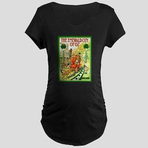 Emerald Maternity Dark T-Shirt