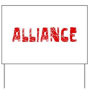 8d231bdbc9c Alliance Yard Signs - CafePress