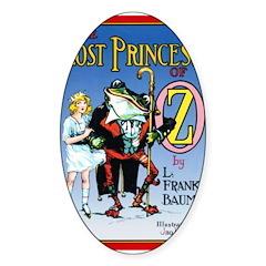 Princess Oval Sticker (10 pk)