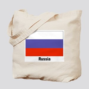 Russia Russian Flag Tote Bag