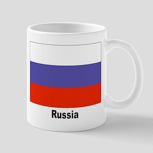 Russia Russian Flag Mug