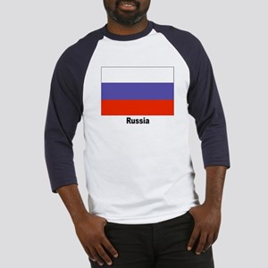 Russia Russian Flag (Front) Baseball Jersey