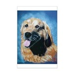 golden retriever Mini Poster Print