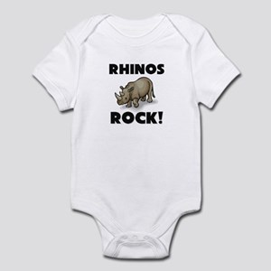 Rhinos Rock! Infant Bodysuit