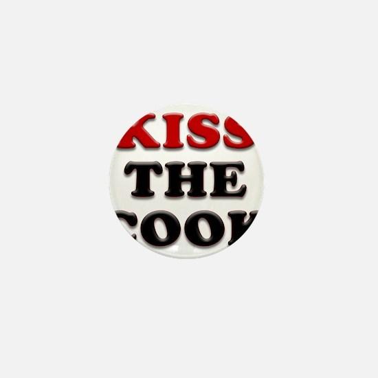 kiss the cook Mini Button