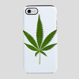 marijuana leaf iPhone 8/7 Tough Case