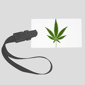 marijuana leaf Luggage Tag