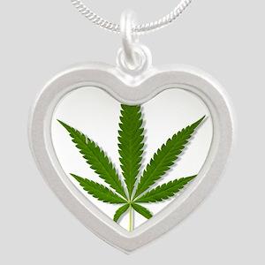 marijuana leaf Necklaces
