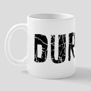 Durham Faded (Black) Mug
