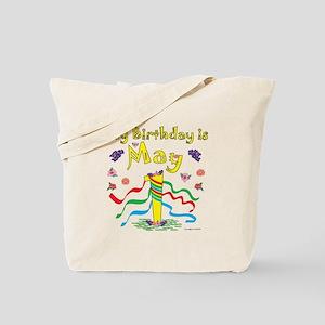 May Day May 1st Birthday Tote Bag