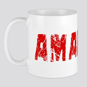 Amarillo Faded (Red) Mug