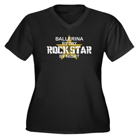 Ballerina Rock Star by Night Women's Plus Size V-N