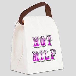 hot milf Canvas Lunch Bag