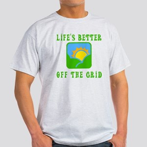 Life's Better Off the Grid Light T-Shirt