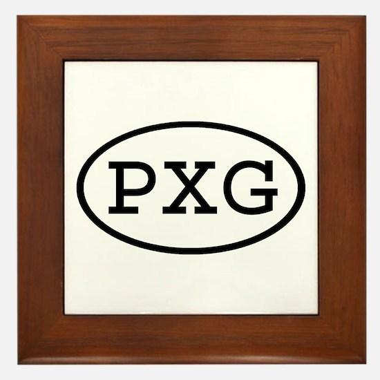 PXG Oval Framed Tile