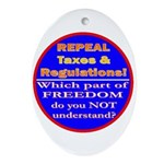 Repeal Taxes#2c Oval Ornament
