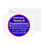 Repeal Taxes#2c Greeting Cards (Pk of 10)