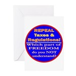 Repeal Taxes#2c Greeting Cards (Pk of 20)