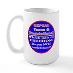 Repeal Taxes#2c Large Mug