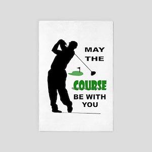 Golfer 4' X 6' Rug