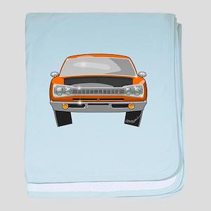 Super Bee baby blanket