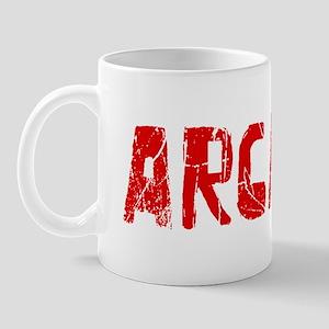 Arcadia Faded (Red) Mug