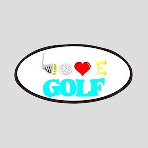 I love golf Patch