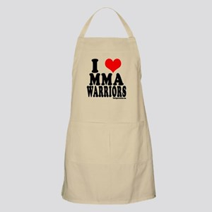 I LOVE MMA WARRIORS BBQ Apron