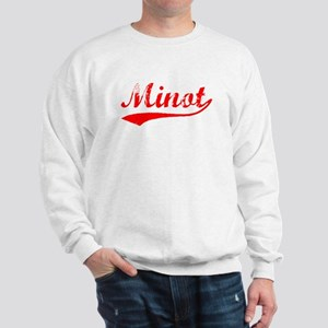 Vintage Minot (Red) Sweatshirt